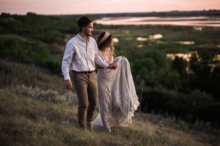 Create an all-day elopement timeline. Elopement in Saskatoon